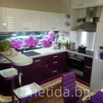 кухня с орхидея